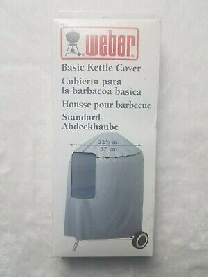 "$ CDN31.91 • Buy Weber Basic Kettle Cover #4701 - 22 1/2"" - Gray - New In Box"