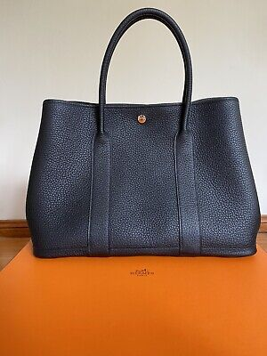 AU4980 • Buy Hermes Garden Party 36 Black