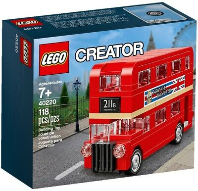 $ CDN19.13 • Buy LEGO Creator - 2016 Mini London Double Decker Bus 40220