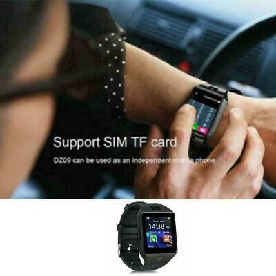 AU13.68 • Buy DZ09 Bluetooth Smart Watch Camera Phone Mate GSM SIM Samsung For Android J3 V8Z1