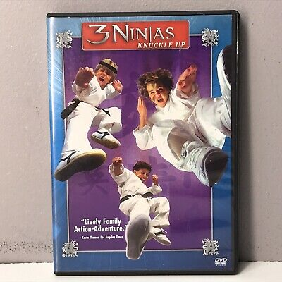 $ CDN21.24 • Buy 3 Ninjas Knuckle Up DVD DISC NEARLY NEW 2001 Rare OOP Three FAST! FREE SHIPPING!