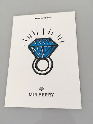£10 • Buy Mulberry Kate For A Day Kate Middleton Prince William Engagement Pop Out Ring