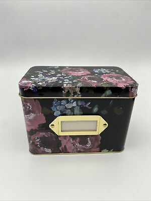 Recipe Storage Box/Holder With Notes Home Decor: Gift • 14.99£