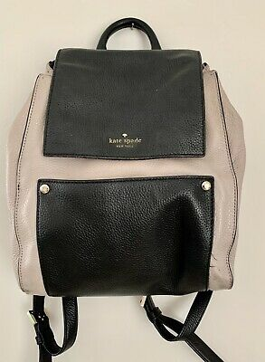 $ CDN94.42 • Buy Kate Spade Leather Backpack Tan And Black
