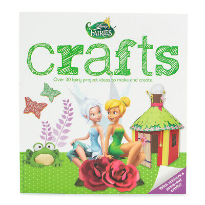 Disney Fairies Art Crafts Activity Book Fun Projects For Kids Girls Boys Toys • 5.78£