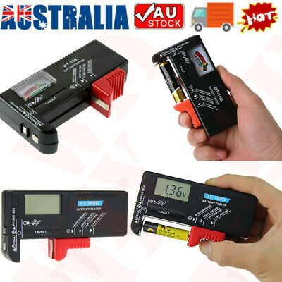 AU9.79 • Buy 1x Universal Battery Tester Tool AA AAA C D 9V Button Checker Accessory New AU