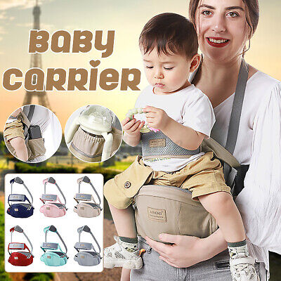 Ergonomic Infant Baby Carrier With Hip Seat Stool Adjustable Wrap Sling  • 14.59£