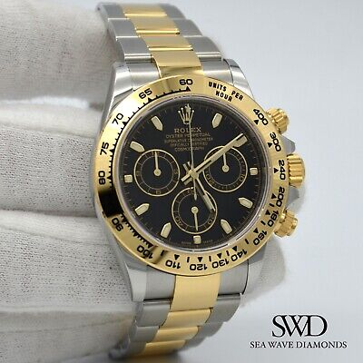 $ CDN29159.81 • Buy *New* Rolex Two-tone Cosmograph Daytona 116503 Black Dial Box And Papers