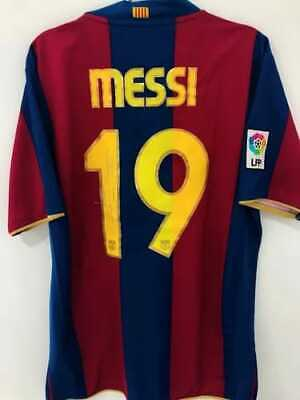 AU839.58 • Buy Jersey FC Barcelona Special Edition Camp Nou #19 Lionel Messi - Signed By Player