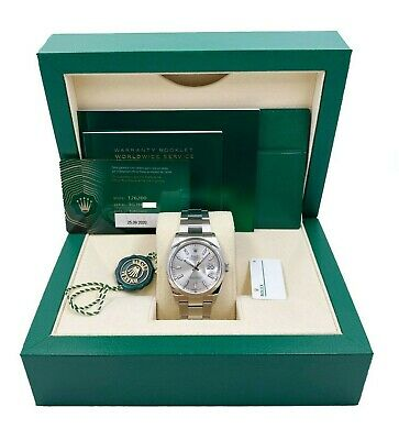 $ CDN10096.89 • Buy BRAND NEW Rolex Datejust 126200 Silver Dial Stainless Steel Box Papers 2020