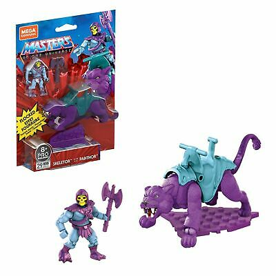 $39.99 • Buy NEW SKELETOR And PANTHOR GVY17- MASTERS OF THE UNIVERSE MEGA CONSTRUX