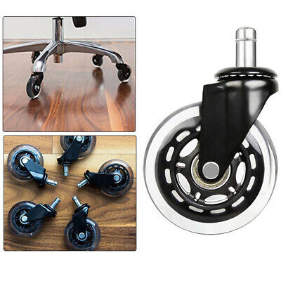 AU16.57 • Buy 2.5 Universal Office Desk Chair Wheel Swivel Caster Furniture Replacement Roller