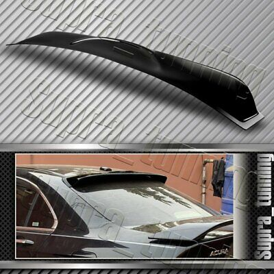 $45.38 • Buy For Acura TSX Black Rear Sun Rain Window Roof Visor Spoiler Wing ABS Plastic