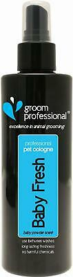 Baby Fresh Pet Cologne Groom Professional Talc Smell With Chamomile Extract100Ml • 6£