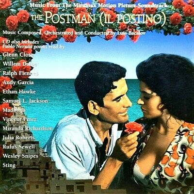 LUIS BACALOV The Postman (il Postino) Music From Miramax Motion Picture CD  MINT • 7.15£