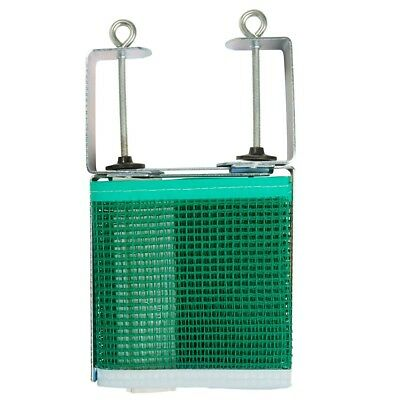 AU37.99 • Buy Table Tennis Net And Post Set With Extendable Steel Posts Green 167.64cm X 15.24