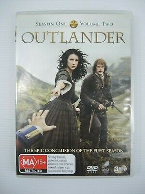AU11.50 • Buy Outlander DVD Season One Volume Two 3 Disc Set 2015 R2 4 5 MA15+ FREE POSTAGE