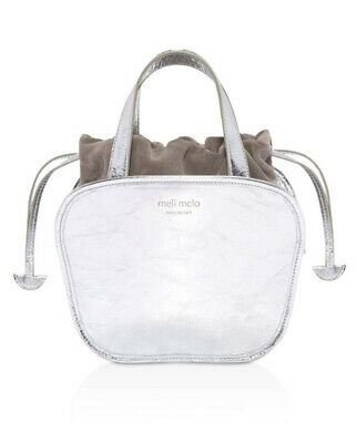 AU157.63 • Buy MELI MELO Rosetta Leather Satchel No Size, Silver,  MSRP $665 NWD