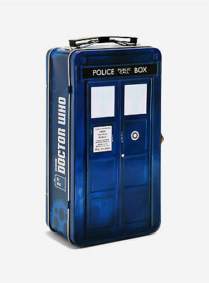 £15.91 • Buy DOCTOR WHO Tardis Shaped Lunch Box /Tin Tote -Collectable- 8  X 5  X 3