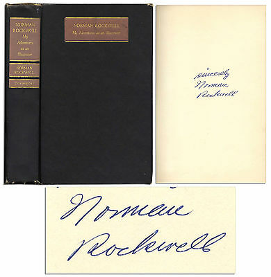 $ CDN501.28 • Buy Norman Rockwell Signed 1st Edition Of His Autobiograpy
