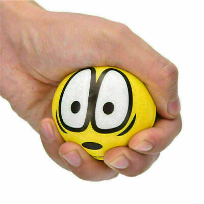2x Face Anti Stress Reliever Ball ADHD Autism Mood Toy Squeeze Relief UK • 2.92£