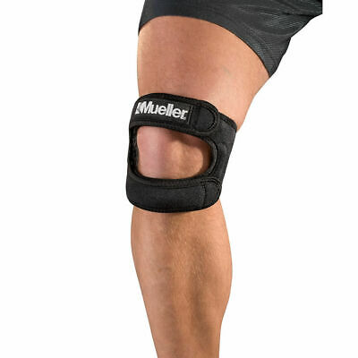 Mueller Max Patella Tendon Knee Compression Strap ITB Runners Knee Dual Support • 36.99£