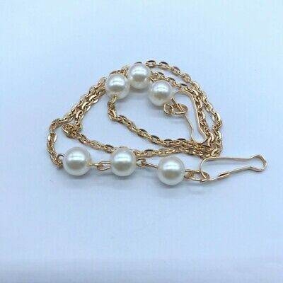 £4.99 • Buy Fashion Face Mask Pearl Chain | Glasses Lanyard Holder Chains| Sunglasses Chain