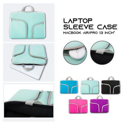 AU20.85 • Buy Laptop Sleeve Handle Case Cover Carry Bag For Macbook Air Pro Retina 13' Inch