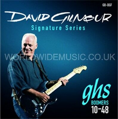 $ CDN14.71 • Buy GHS GBDGF Boomers Dave Gilmour Signature Electric Guitar Strings .010 - .048