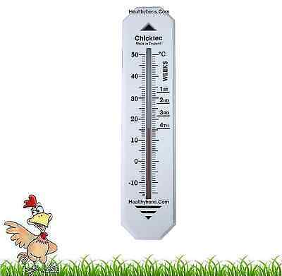 £11.95 • Buy CHICKTEC INCUBATOR BROODER THERMOMETER Hatching Eggs Poultry Chicks