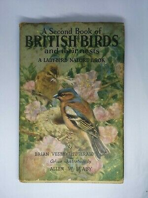 A Second Book Of British Birds And Their Nests A Ladybird Nature Book By... • 7.50£