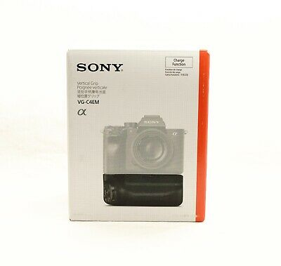 $ CDN399 • Buy Sony Genuine VG-C4EM Battery Vertical Grip USB Charge  For A9 II A7R IV A7RM4