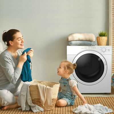 View Details 27 Lbs Electric Tumble Portable Compact Clothes Laundry Dryer 3.21 Cu. Feet • 349.95$
