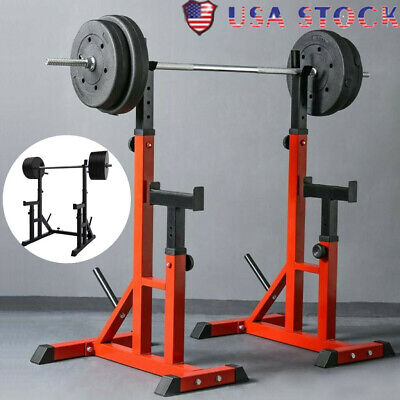 $ CDN242.91 • Buy Squat Rack Multifunction Barbell Bench Press Stand Weight Plate Rack Full Boday