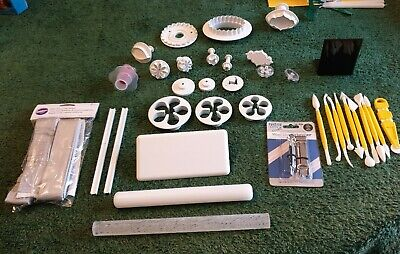 £15 • Buy PME Cake Decorating, Tools:  Modelling, Rolling Pin, Fondant Cutters,
