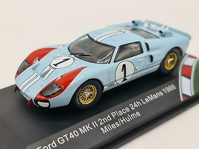 1/43 1966 Ford GT40 MKII #1 -  The Real Winner  - Miles / Hulme - CMR • 32.50£