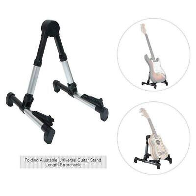 $ CDN23.33 • Buy Electric Guitar Stand Acoustic Guitar Stand Universal Free Fold Frame D9O4