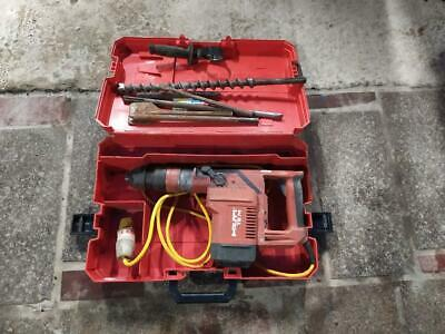 £375 • Buy Hilti Te74 Hammer Drill  110v With Bits