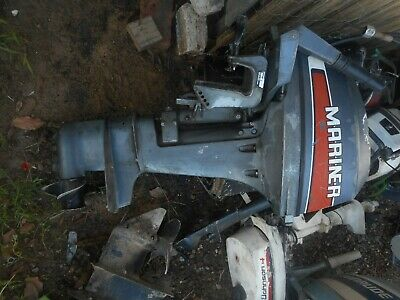 AU1 • Buy Mariner 15 Hp Outboard Motor  Short  Shaft  All Parts Available