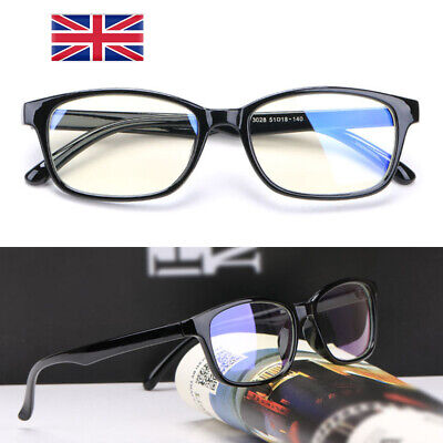 Gaming Glasses New Anti Fatigue Glare Clear Lens PC Gamers Blue Light Block HD Y • 3.59£