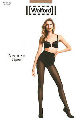 LUXUS PUR: WOLFORD Tights NEON 40 (18391), XL, Cosmetic, NEU&OVP 2018er Cover • 26.01£