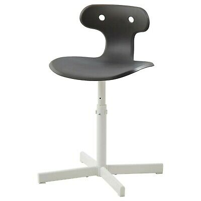 IKEA Molte Desk Chair Grey Adjustable Height, Office Chair, Chair • 30.99£