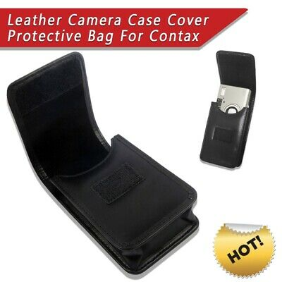 $ CDN31.57 • Buy 2020 Leather Camera Case Protective Bag For Contax T2 T3 TVS1 TVS2 TVS3 Camera