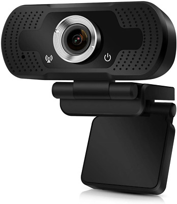 DEATTI Webcam, HD 1080P USB Webcam With Microphone And Speaker For Stream 30fps, • 23.87£