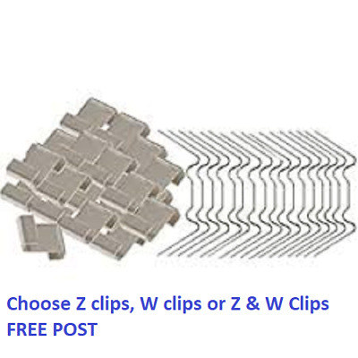 Greenhouse W And Z Clips PACKS Or SINGLES Glass Glazing Overlap - SPARE PARTS. • 4.90£