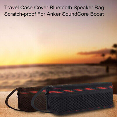 AU15.19 • Buy Travel Case Cover Bluetooth Speaker Bag Scratch-proof For Anker SoundCore Boost