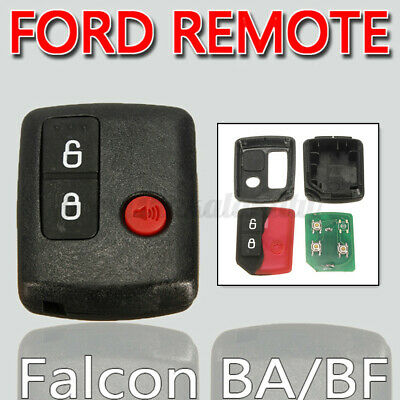 AU18.85 • Buy 2x For Ford Falcon BA/BF Territory SX/SY/Ute/Wagon Remote Key Control 3 Button