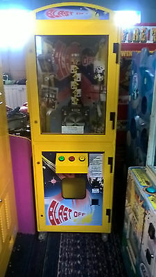 Coin Operated Blast Off Arcade Machine • 500£