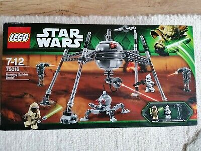 LEGO 75016  Homing Spider Droid    STAR WARS NEW AND SEALED NEVER OPENED  RARE ! • 99£
