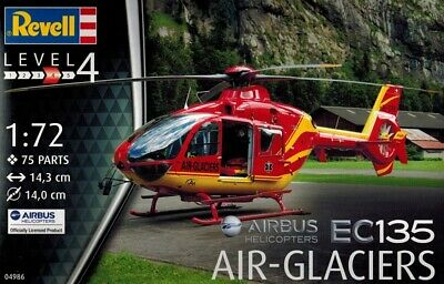 Revell 04986 - EC 135 Air Glaciers - Airbus Helicopters - 1:72 • 7.11£